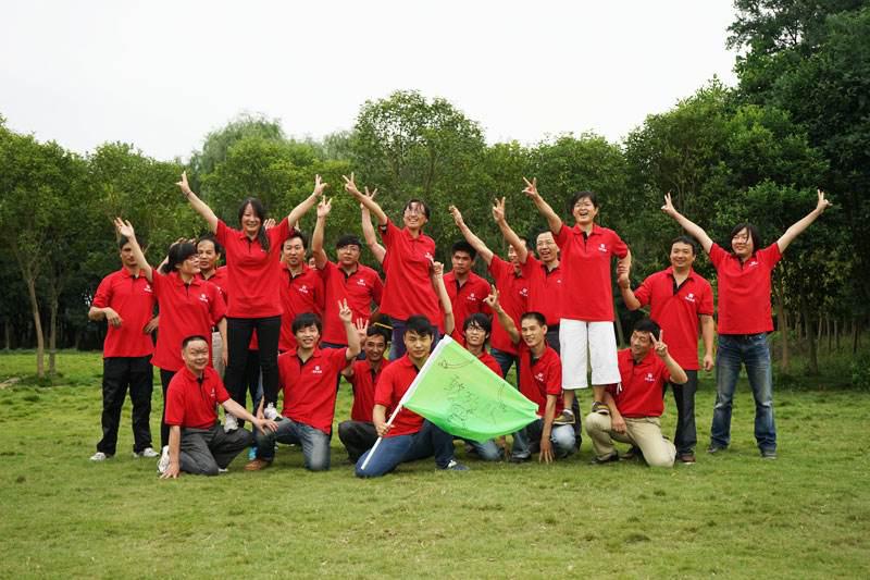 Zigong pump and valve youth employees outdoor development training