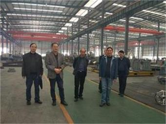 Huang jianwei, vice chairman of Sichuan Machinery Union, and his delegation came to our company for investigation