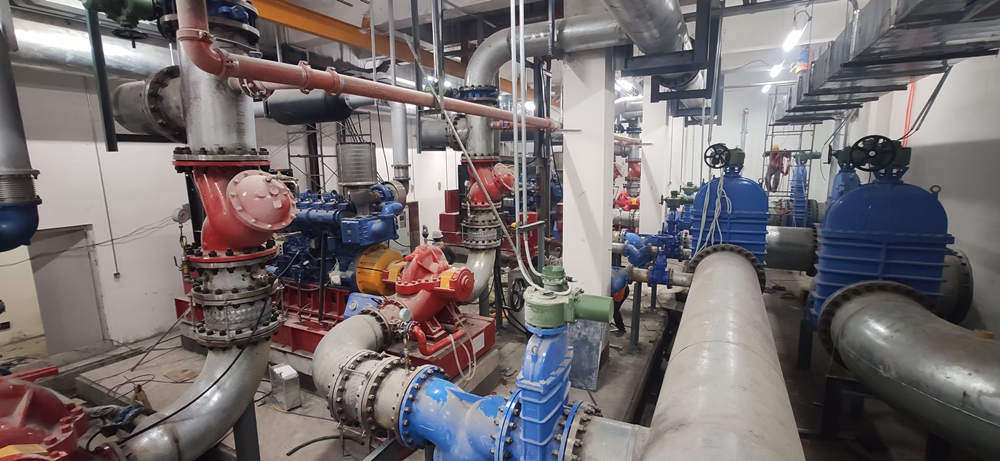 Final commissioning of our pumps in Chengdu Tianfu Airport