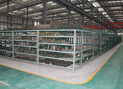Warehouse of semi- finished parts