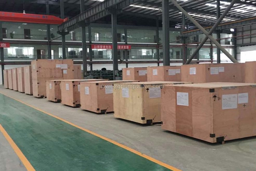 After all the tests have been completed, the products are shipped to the customer