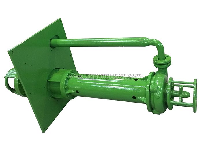 Chemical submerged slurry pump