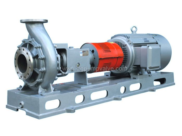Chemical open impeller pulp pump