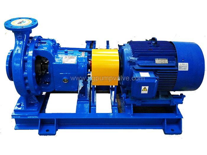 Hot water centrifugal pump
