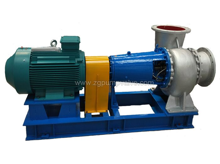 Chemical mixed flow pump