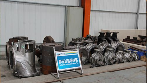 Pump body mechanical seal anti-leakage static pressure test