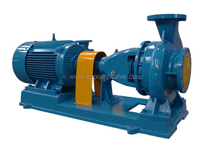Electric motor chemical pump