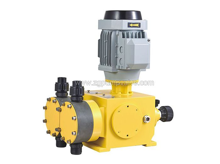 Mechanical drive diaphragm metering pump