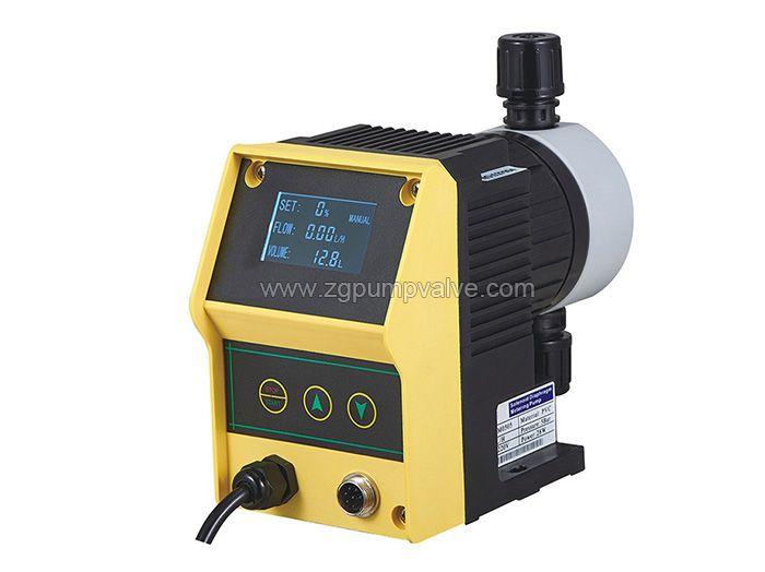Electromagnetic drive diaphragm metering pump