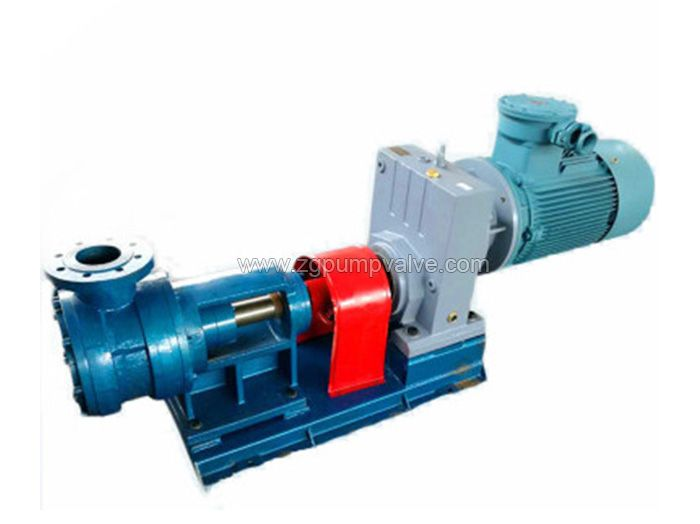 High viscosity rotor pump