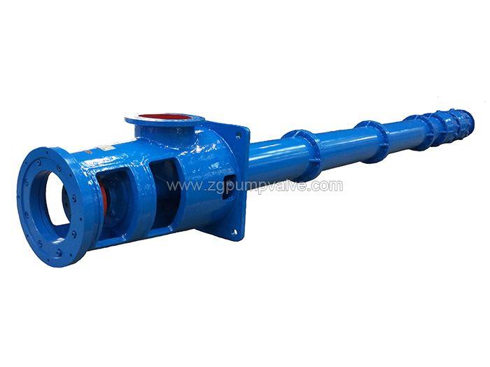 Vertical long shaft sewage slurry pump