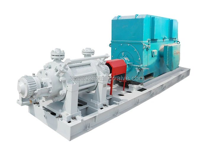 D/DG horizontal multi-stage pump
