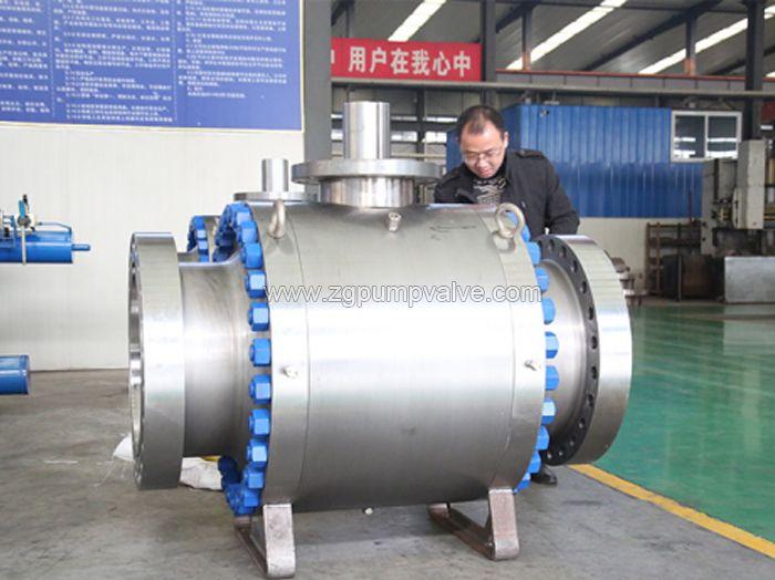 Metal to metal ball valve