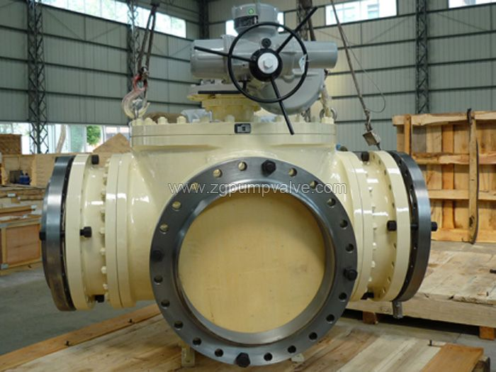 Three-way / four-way ball valve