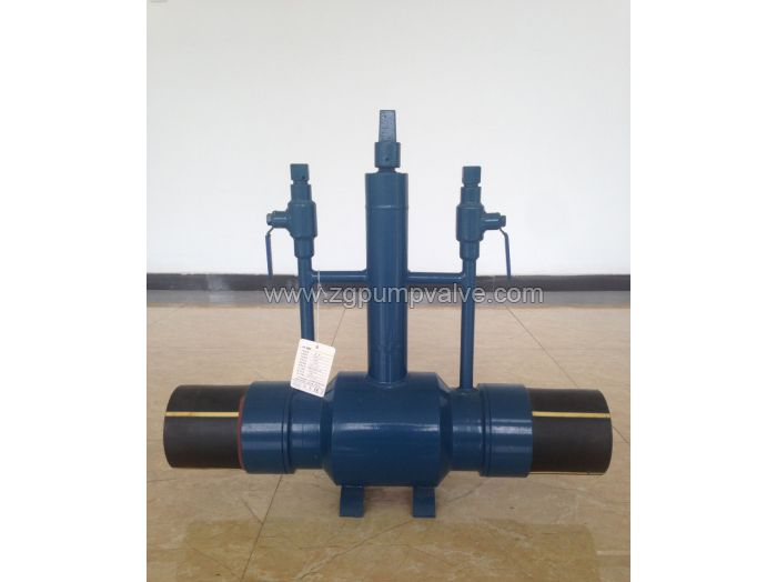 PE ended ball valve