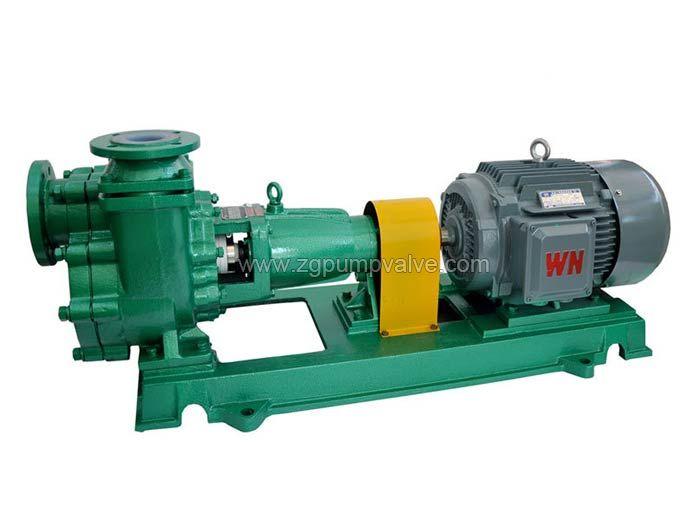 PTFE/PFA lined self-priming pump