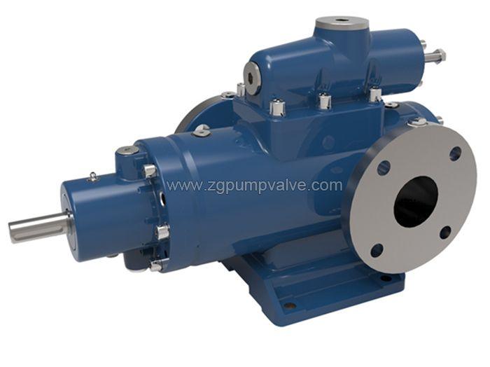 Three screw pump