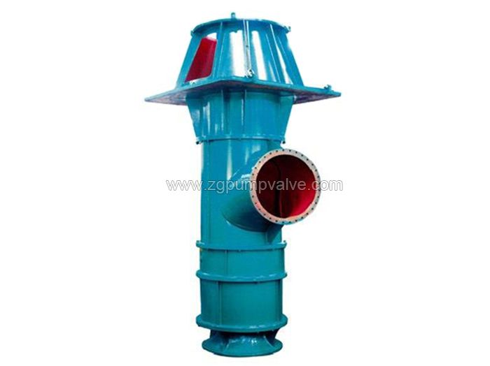 Vertical axial/mixed flow chemical pump