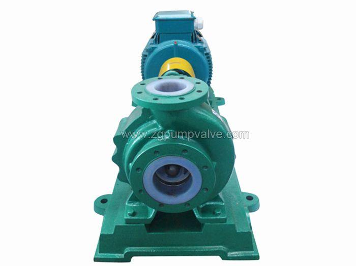 PTFE/PFA/PVDF lined centrifugal pump