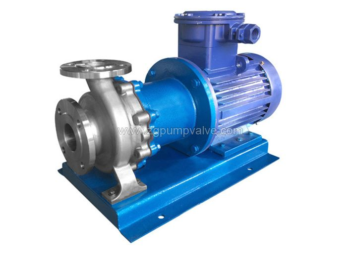 Stainless steel magnetic drive pump