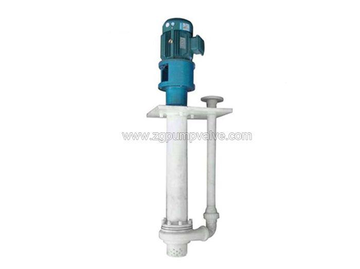 Fluoroplastic/PFA/PTFE submerged pump