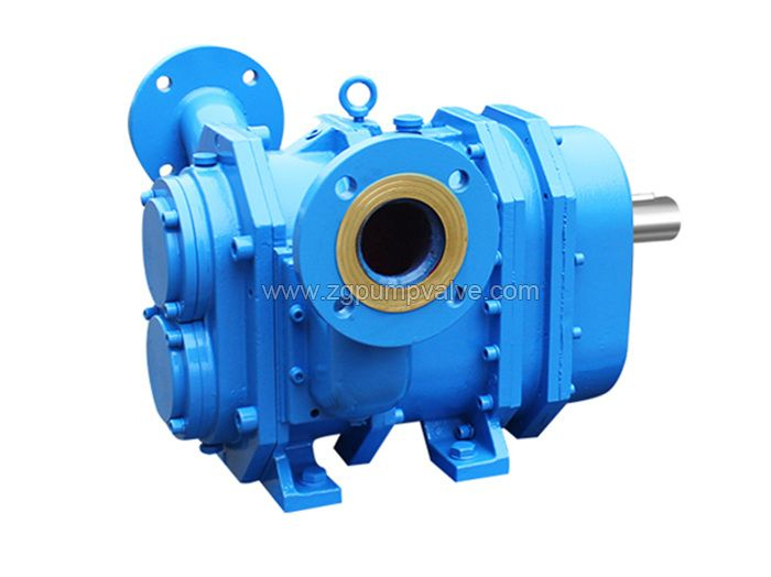 Rotary cam rotor pump
