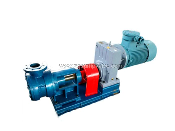 High viscosity rotor pump