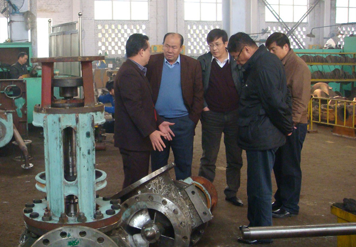 Visit of leaders of China Pump Industry Association