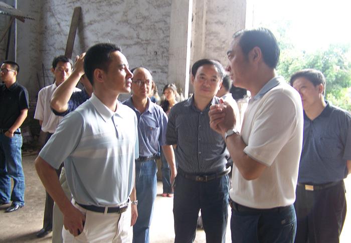 Visit of secretary of Zigong City Municipal Committee