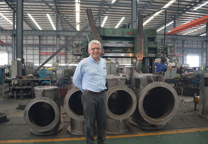 Chile client visiting our factory