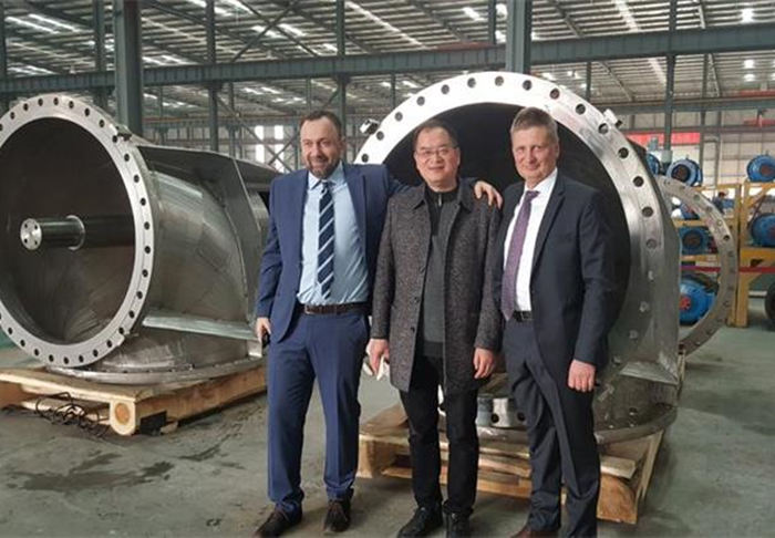 Customer visit from Poland