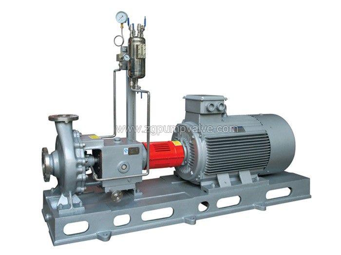 Horizontal chemical process pump