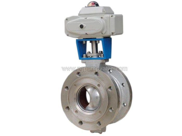 V type ball valve