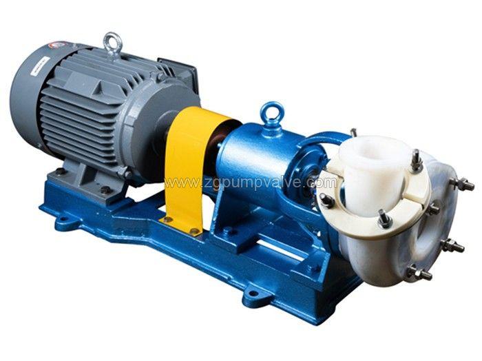 PFA/PTFE fluoroplastic lined pump