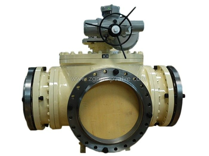 Three-way / four-way ball valve