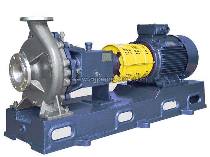 Chemical open impeller pulp pump
