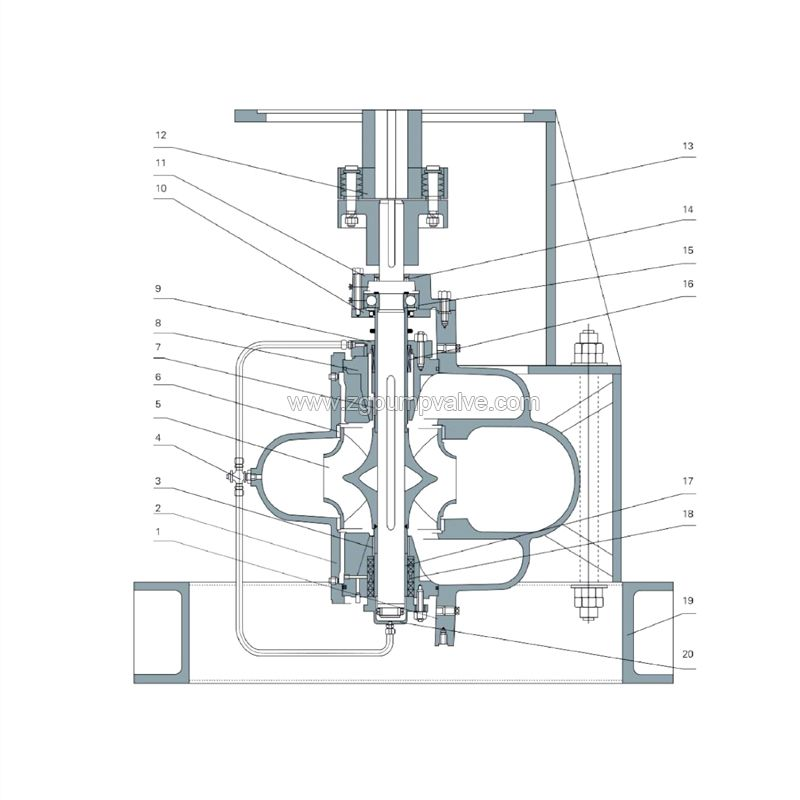 COS double suction pump