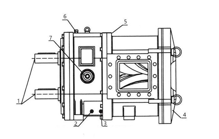 YZB rotary cam rotor pump